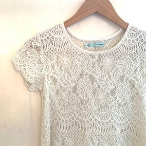 Lace Maurices Top